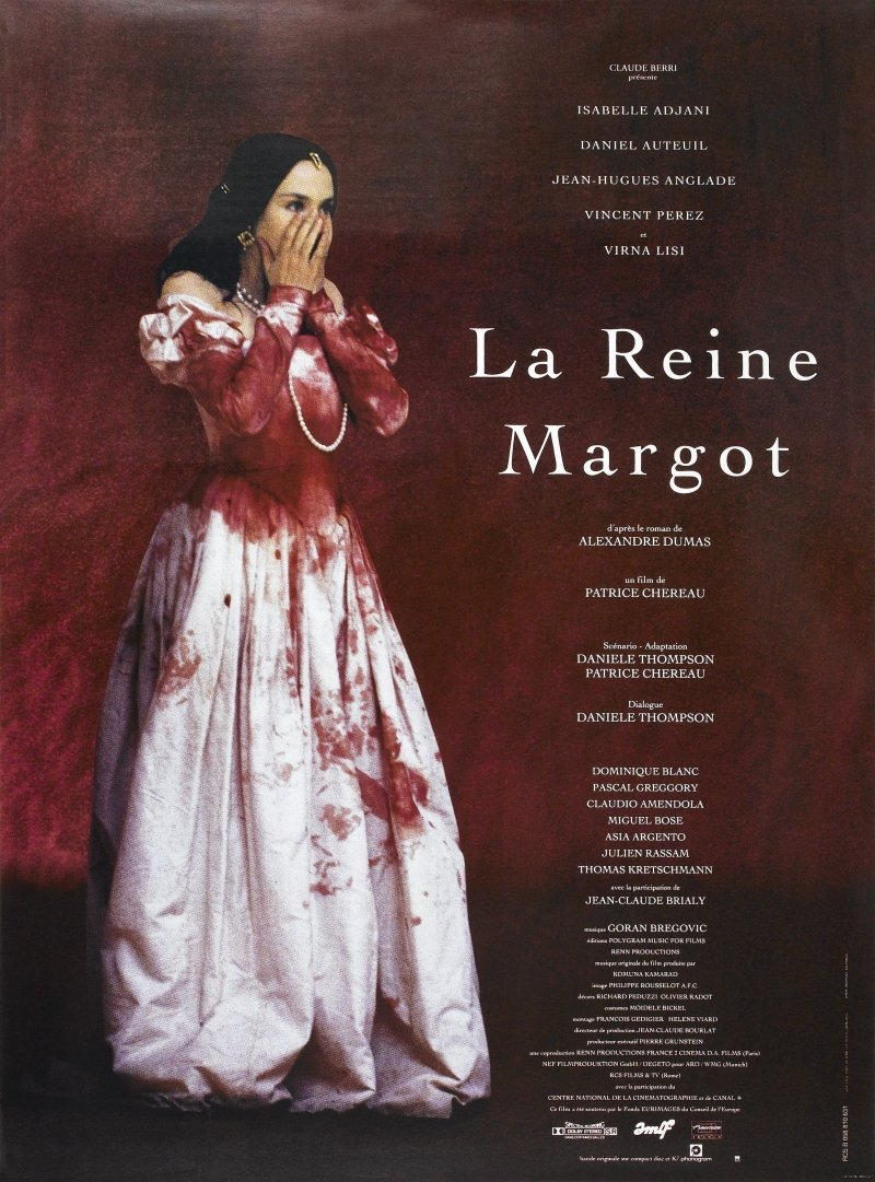 La reine Margot kapak