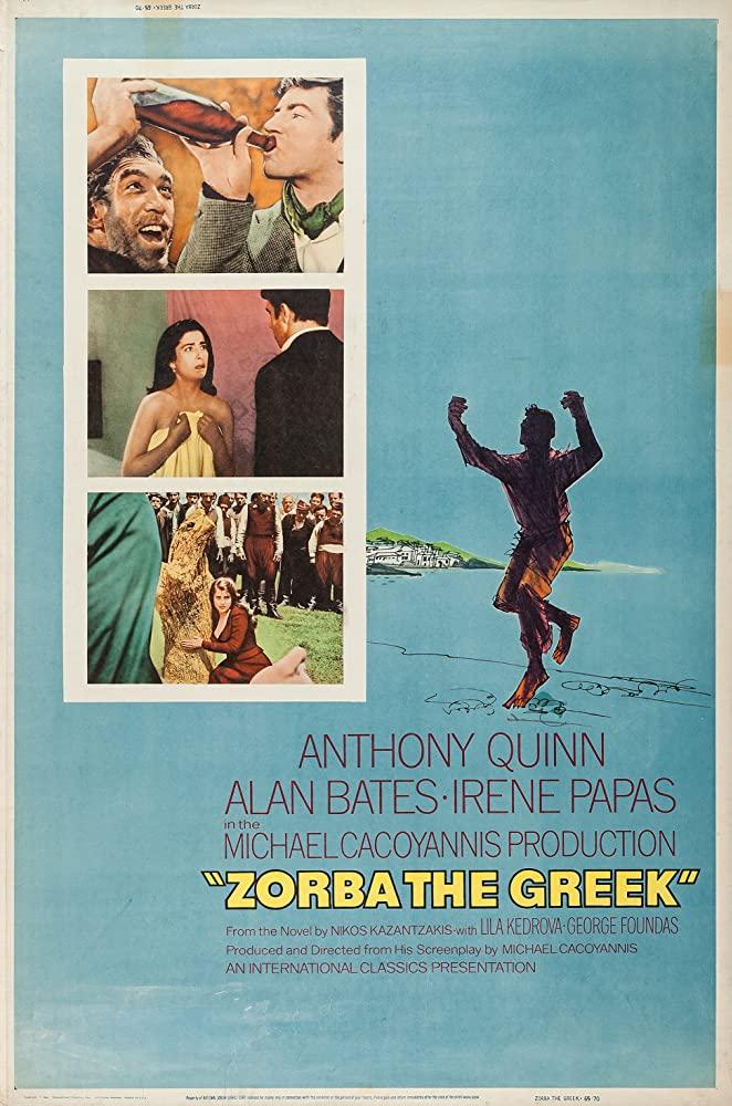 Zorba the Greek kapak