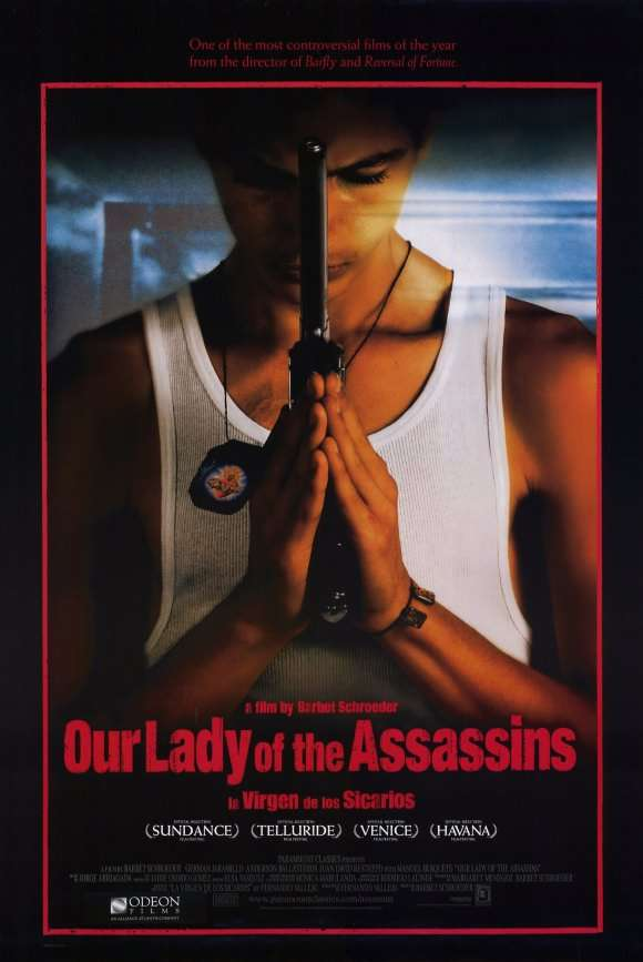 Our Lady of the Assassins kapak