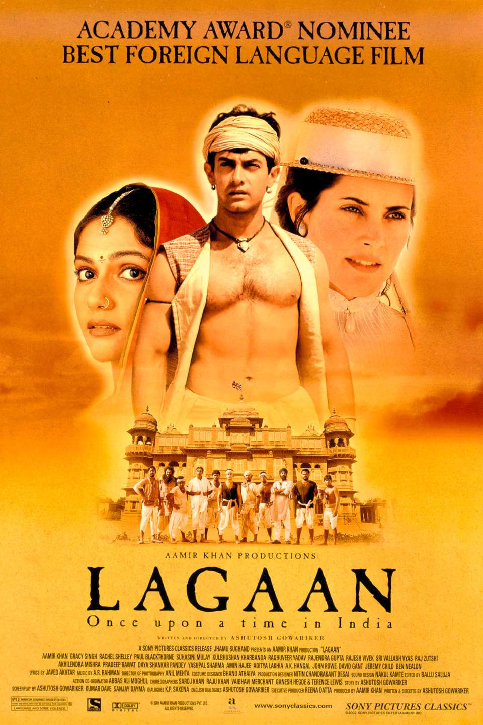 Lagaan: Once Upon a Time in India kapak