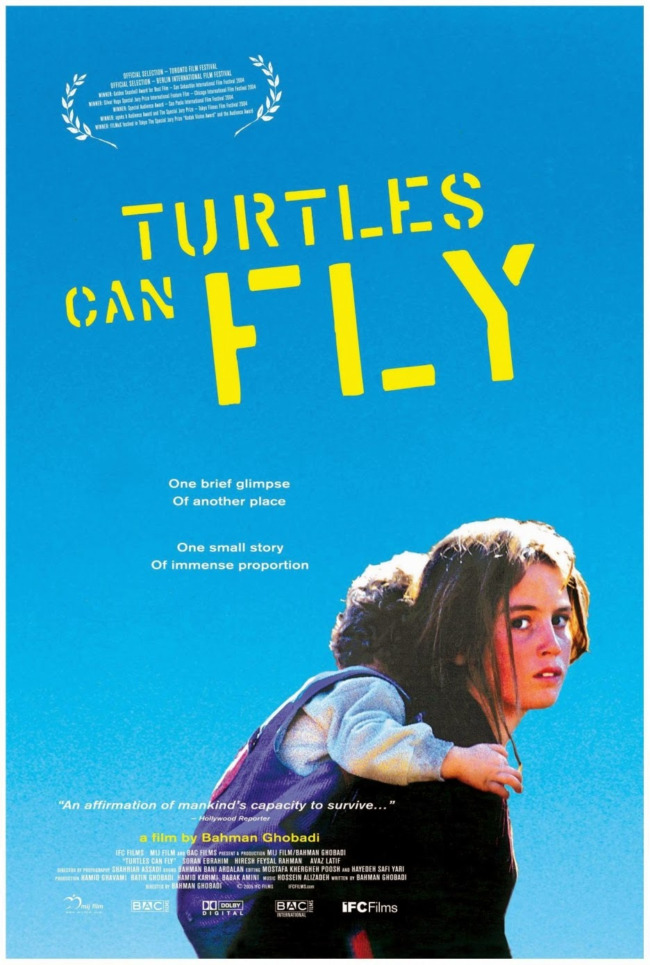 Turtles Can Fly kapak