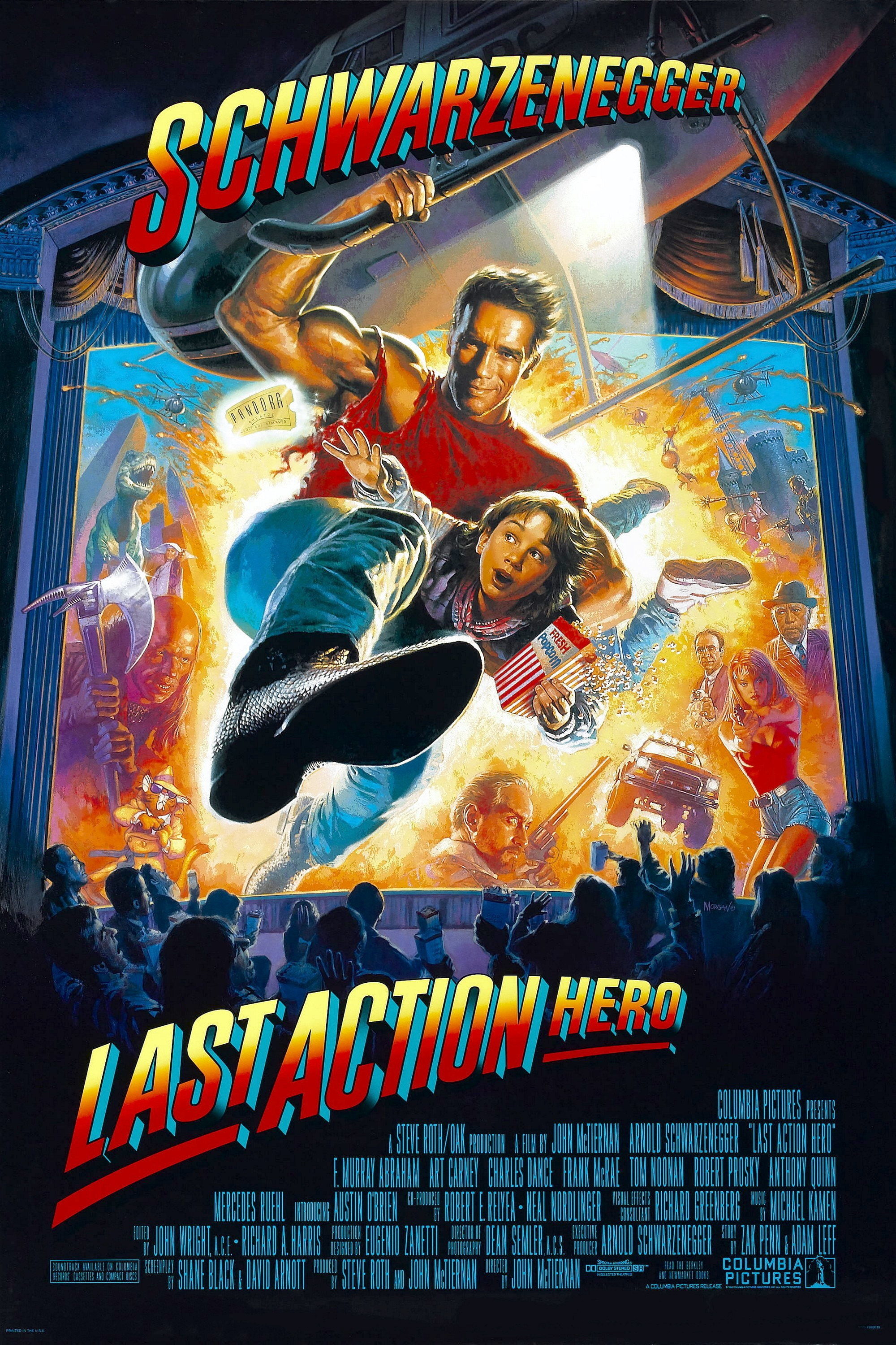 Last Action Hero kapak