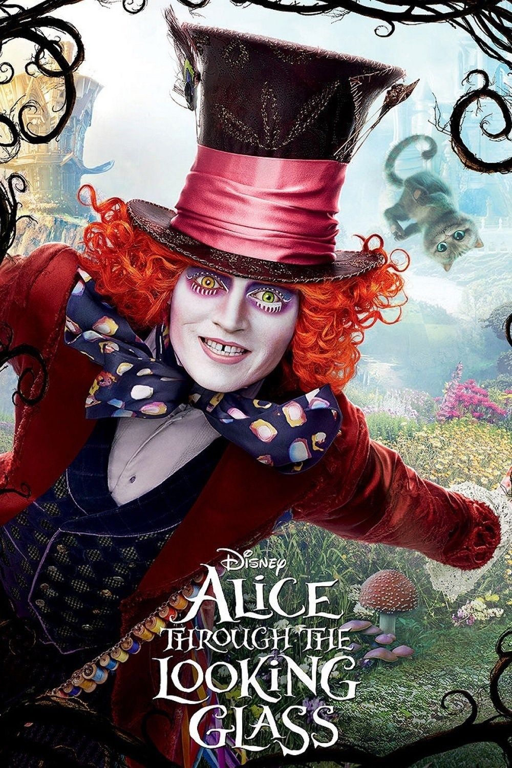Alice Through the Looking Glass kapak