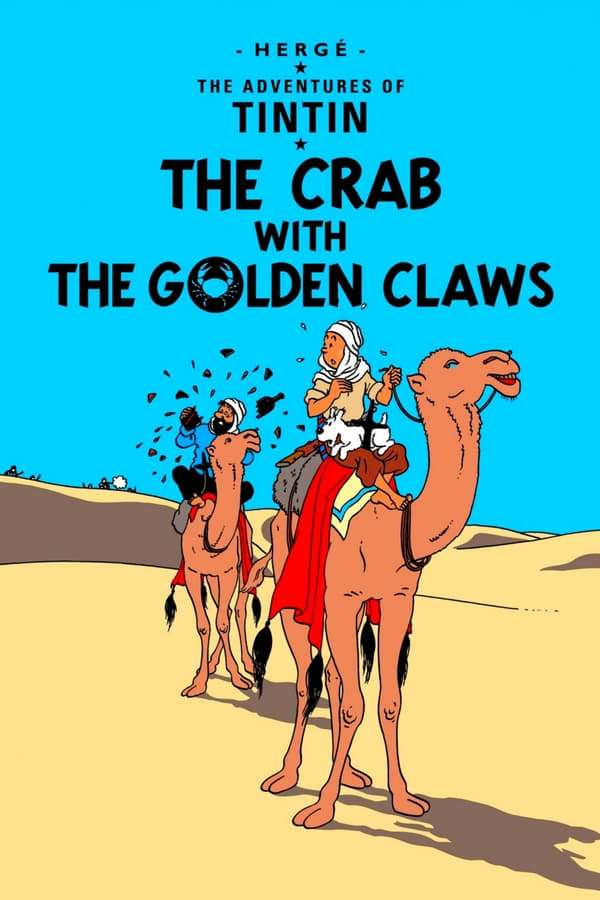 The Crab with the Golden Claws kapak