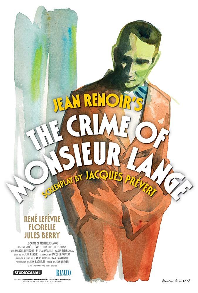 Le crime de Monsieur Lange kapak