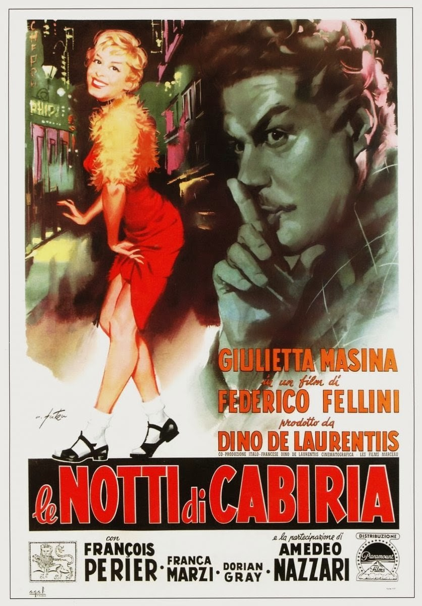 The Nights of Cabiria kapak