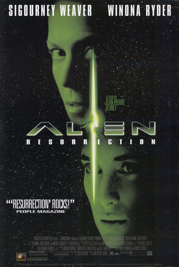 Alien: Resurrection kapak
