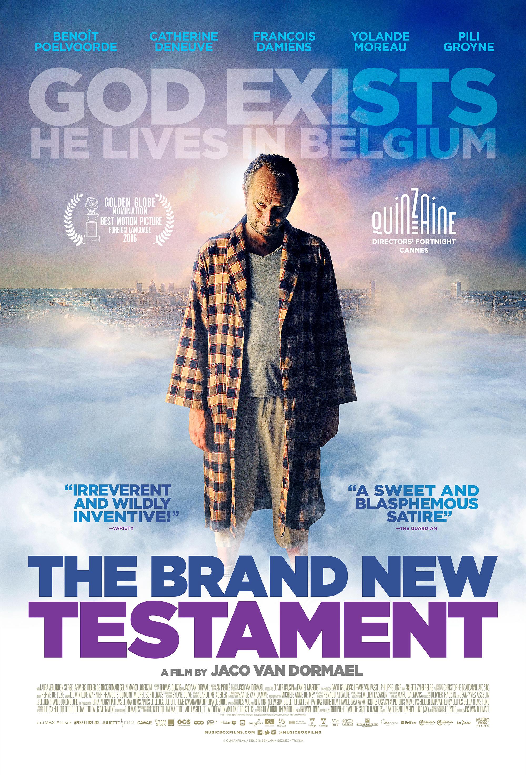 The Brand New Testament kapak