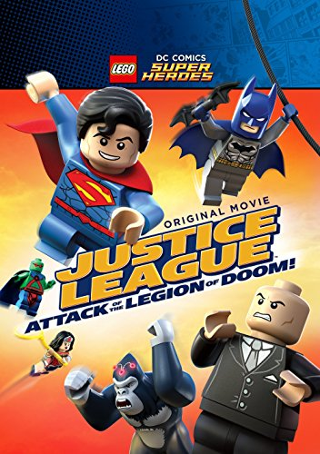 Lego DC Super Heroes: Justice League - Attack of the Legion of Doom! kapak
