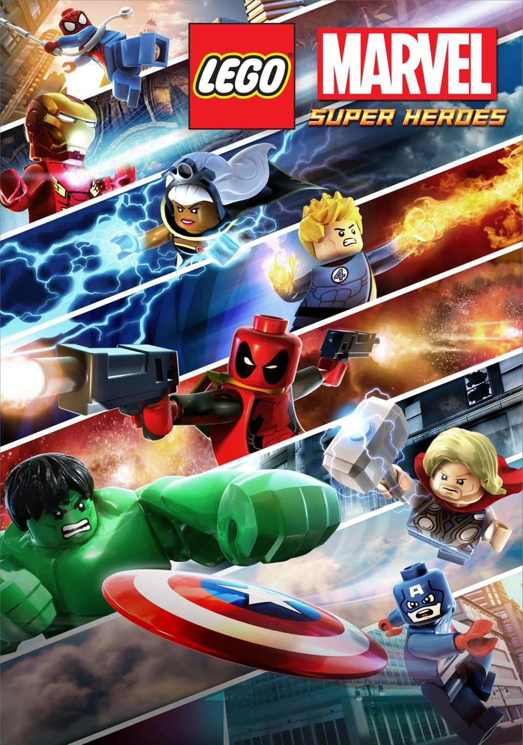 Lego Marvel Super Heroes: Maximum Overload kapak
