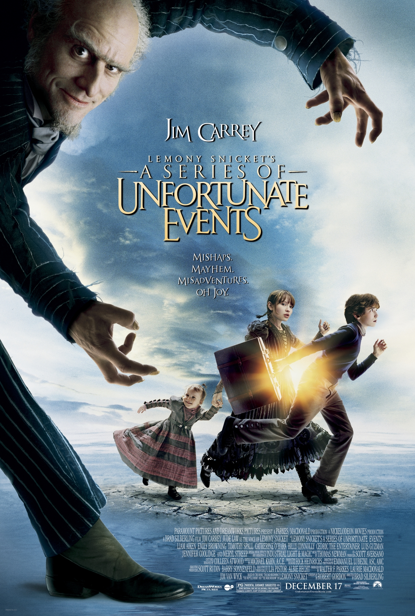 Lemony Snicket's A Series of Unfortunate Events kapak