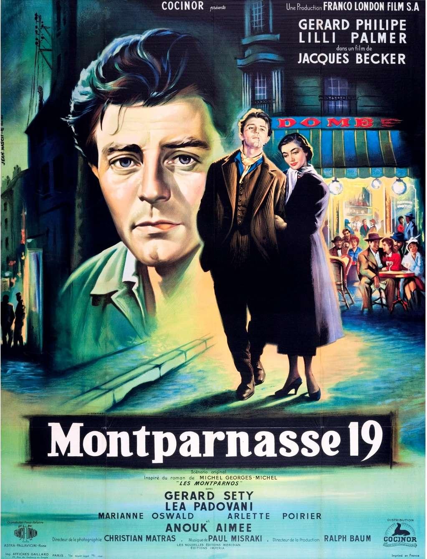 Montparnasse 19 kapak