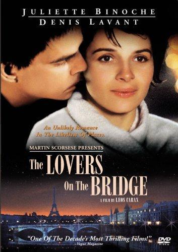 The Lovers on the Bridge kapak