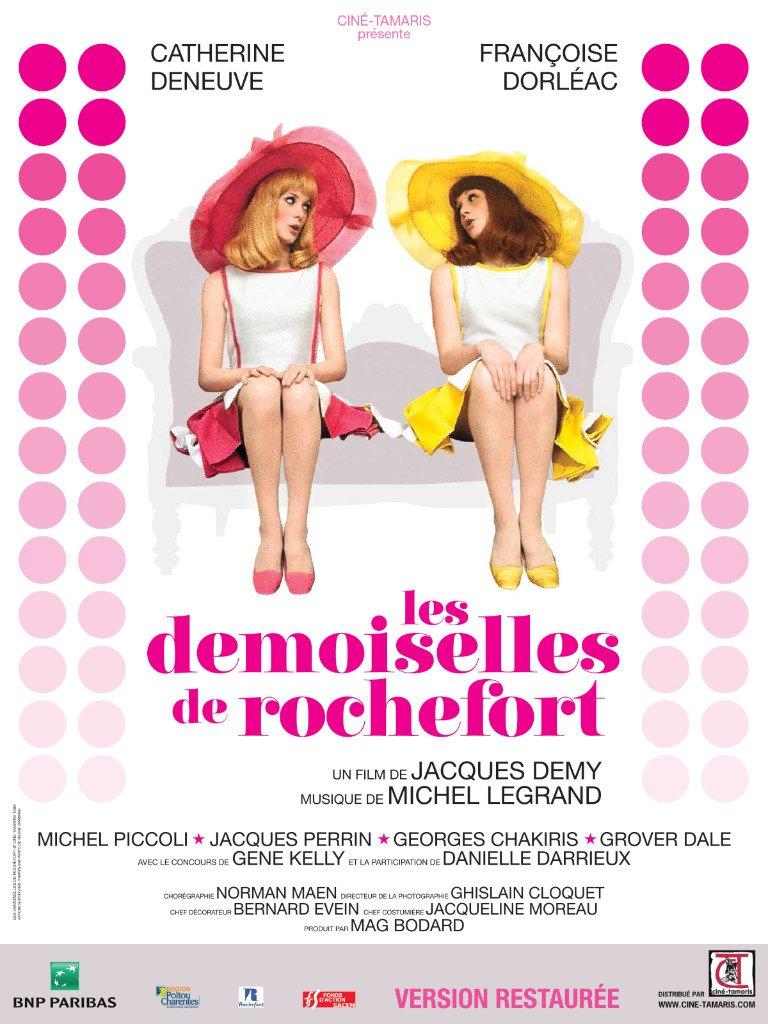The Young Girls of Rochefort kapak