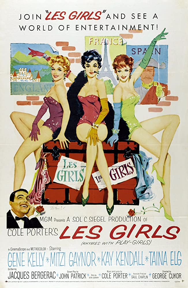 Les Girls kapak