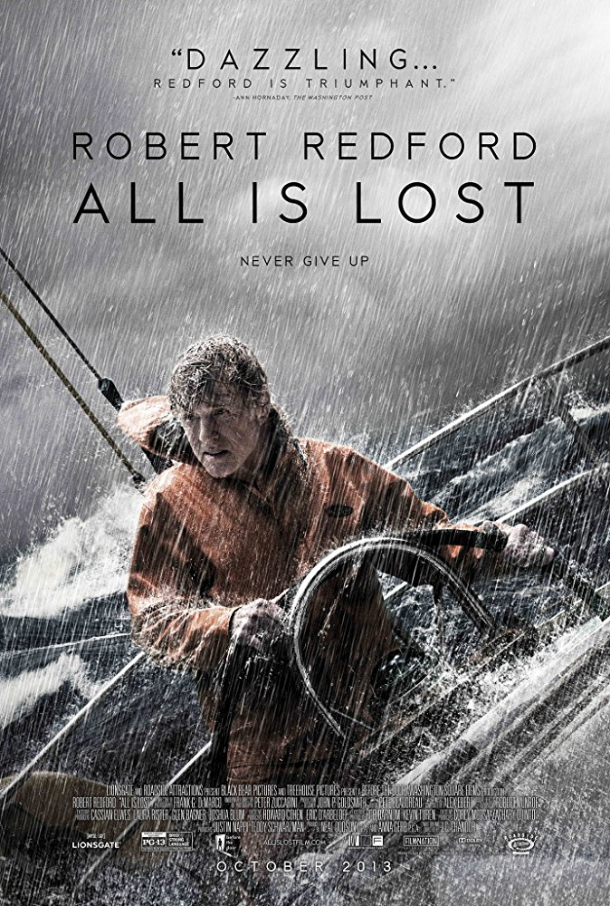 All Is Lost kapak