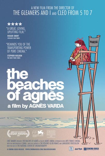 The Beaches of Agnès kapak