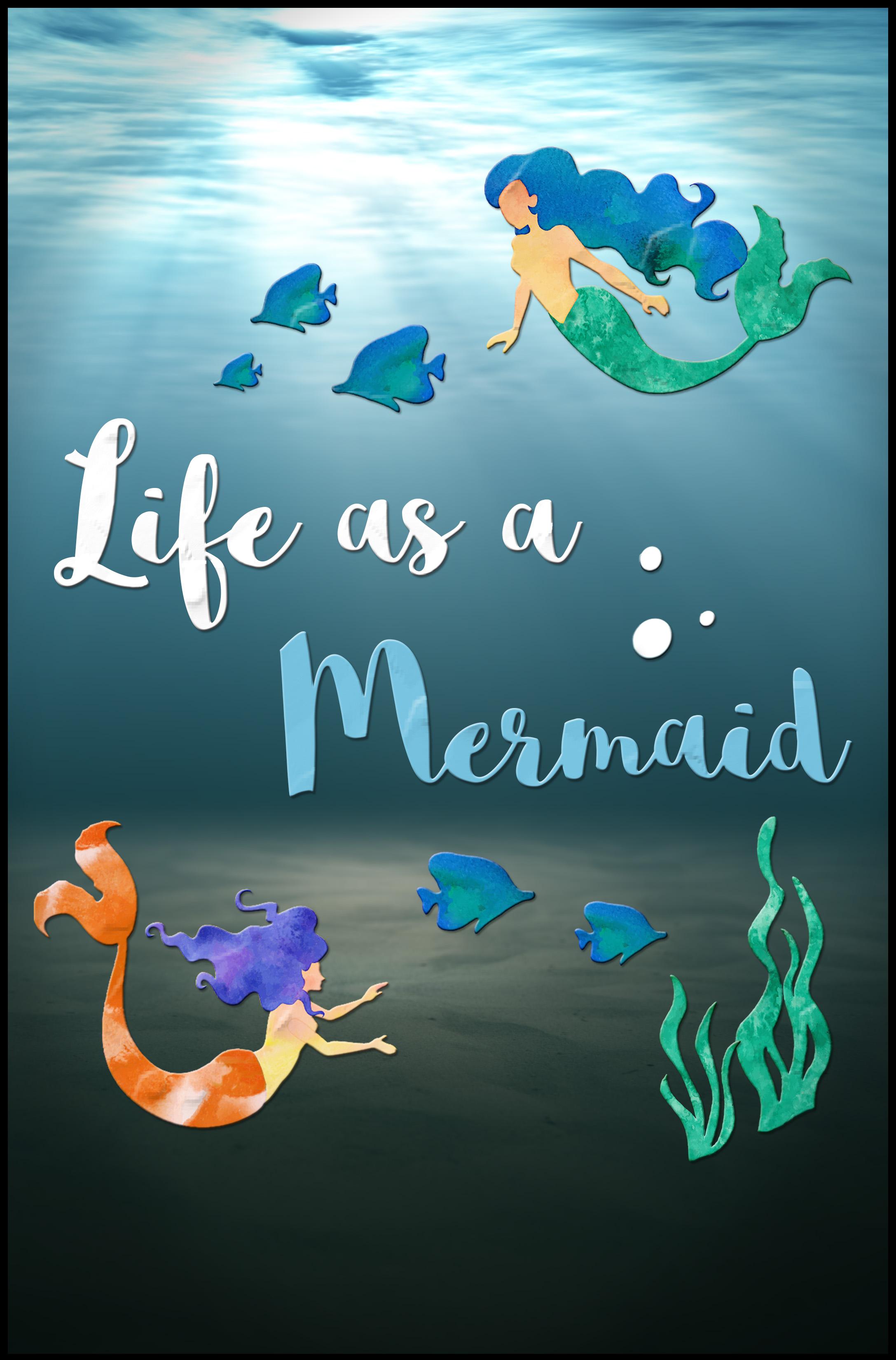 Life as a Mermaid kapak