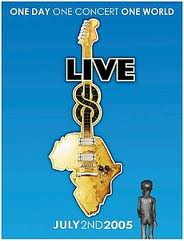 Live 8: A Worldwide Concert Event Presented by Nokia kapak