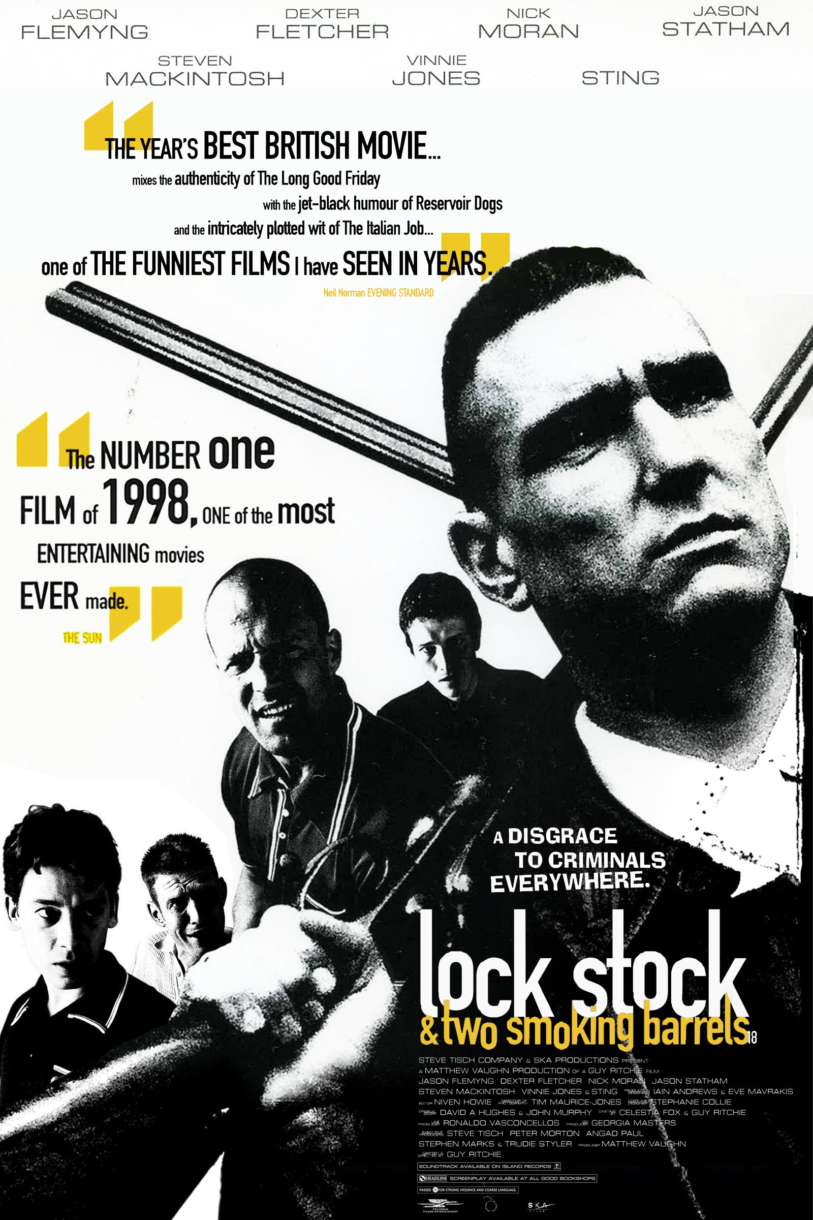 Lock, Stock and Two Smoking Barrels kapak