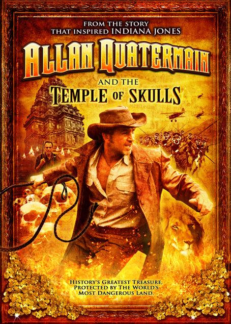 Allan Quatermain and the Temple of Skulls kapak