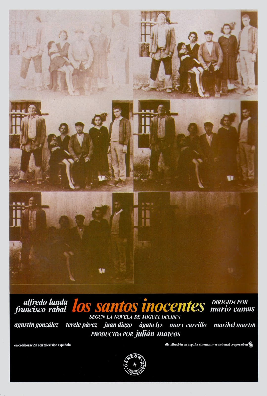 Los santos inocentes kapak