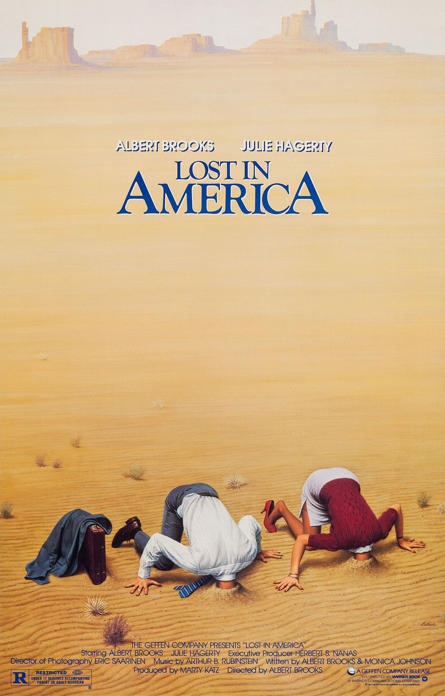 Lost in America kapak