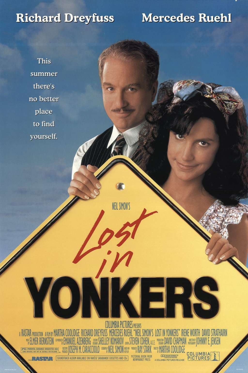 Lost in Yonkers kapak