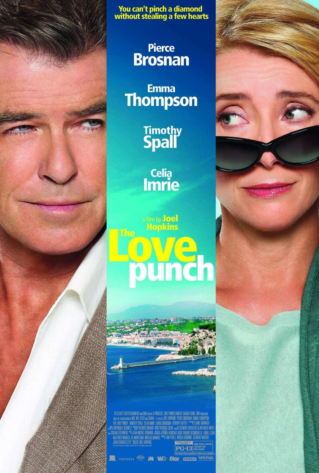 The Love Punch kapak