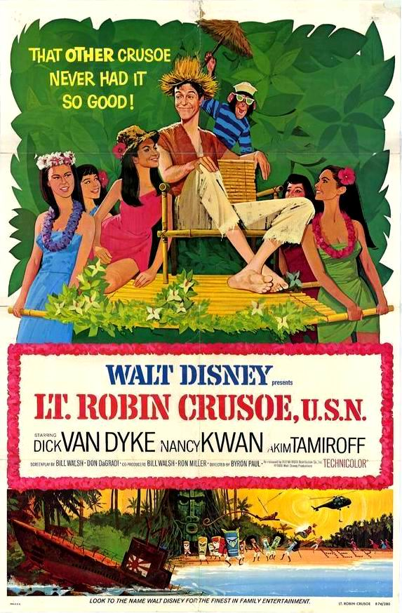 Lt. Robin Crusoe, U.S.N. kapak