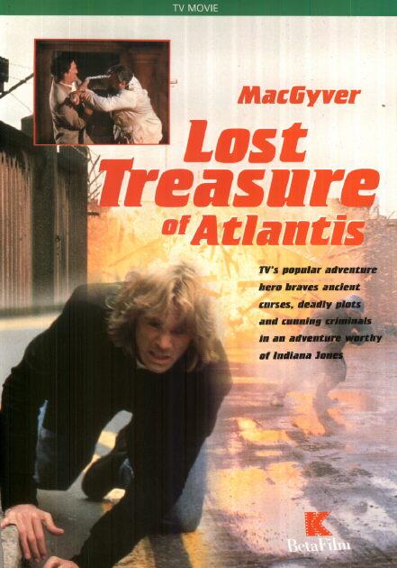 MacGyver: Lost Treasure of Atlantis kapak