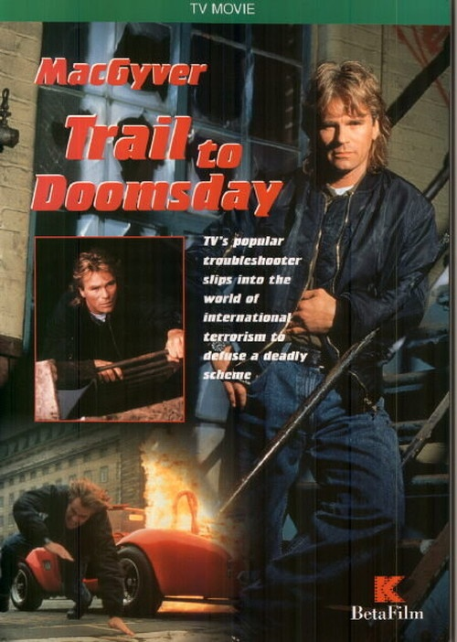 MacGyver: Trail to Doomsday kapak