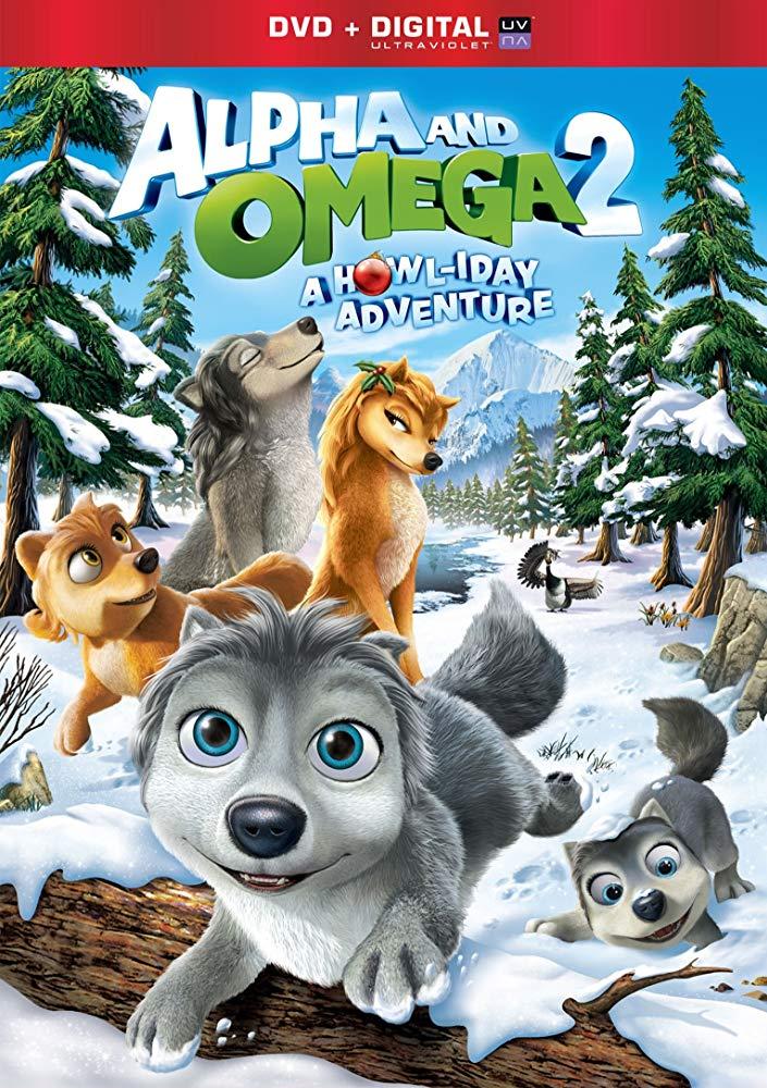 Alpha and Omega 2: A Howl-iday Adventure kapak