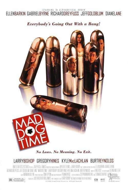 Mad Dog Time kapak
