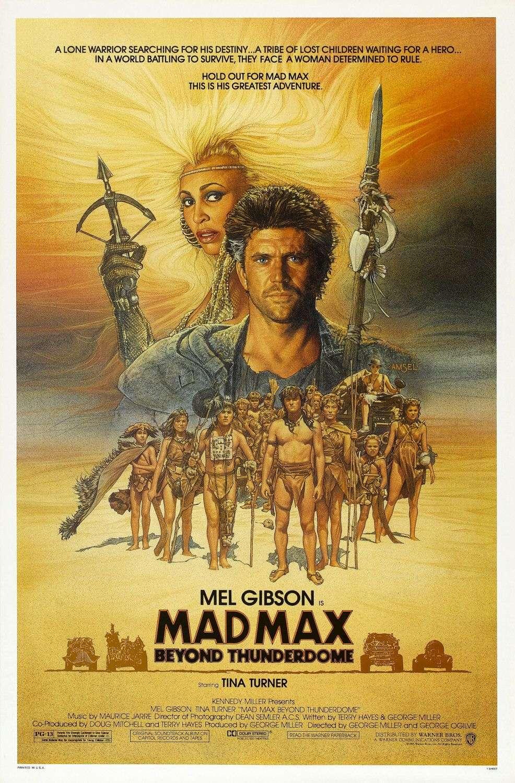 Mad Max Beyond Thunderdome kapak