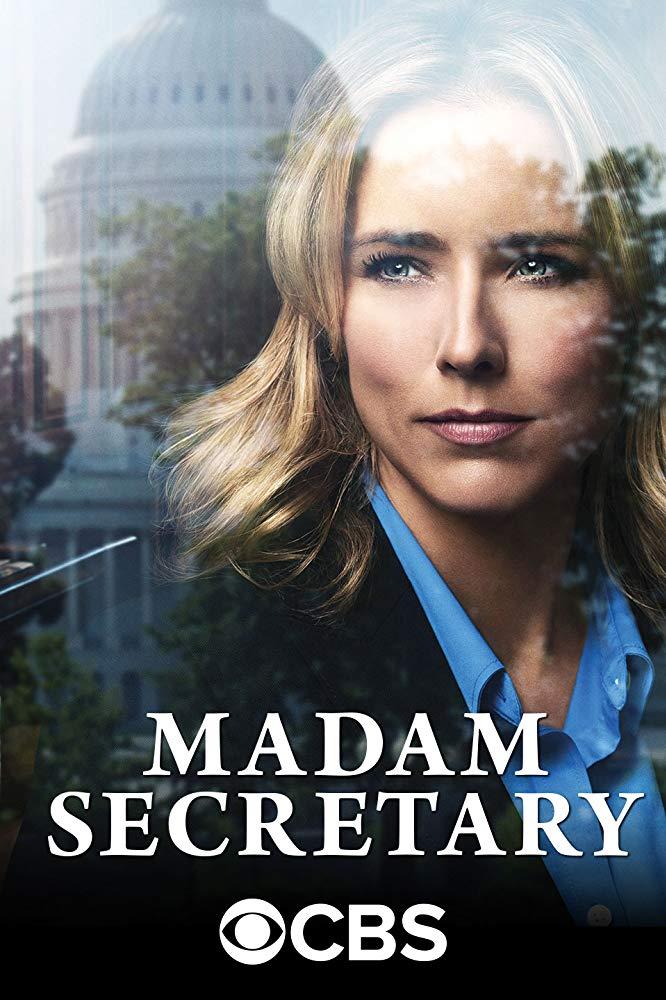 Madam Secretary kapak