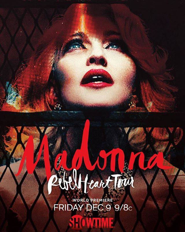 Madonna: Rebel Heart Tour kapak