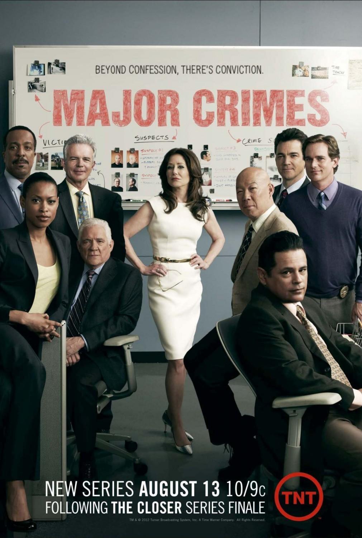 Major Crimes kapak