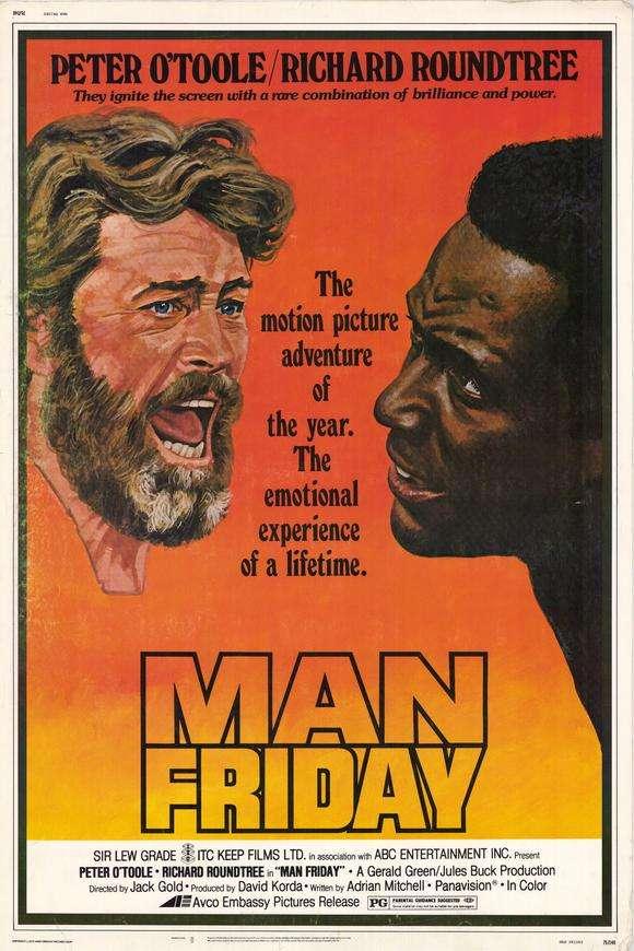 Man Friday kapak