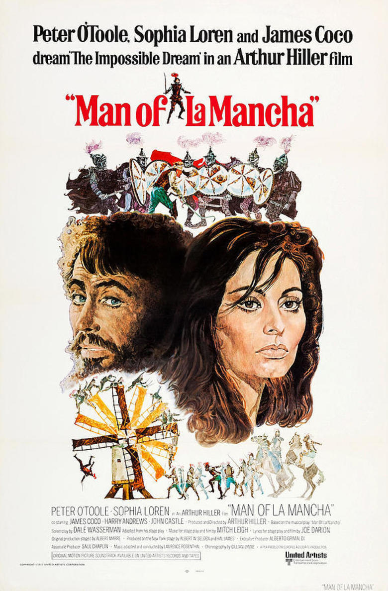 Man of La Mancha kapak