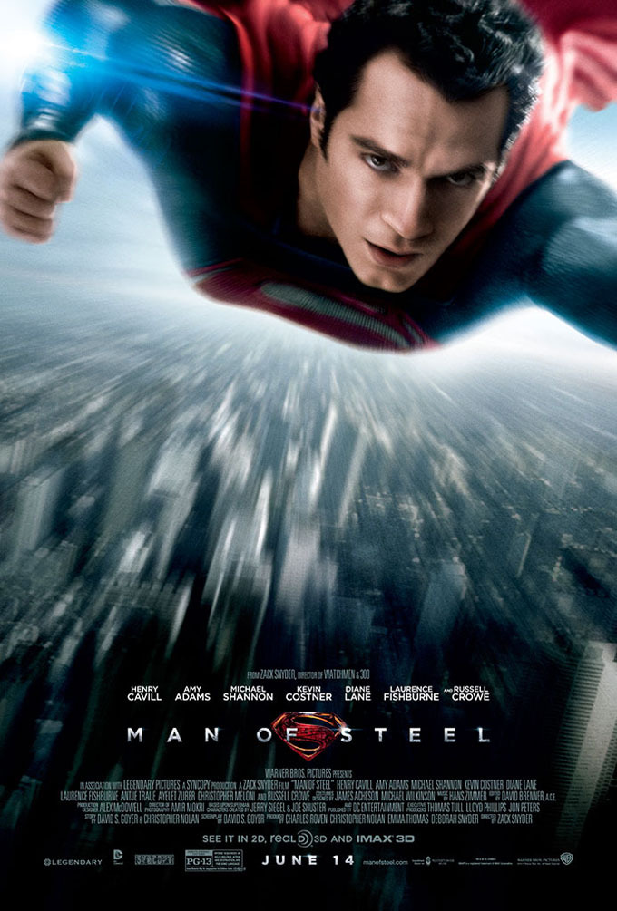 Man of Steel kapak