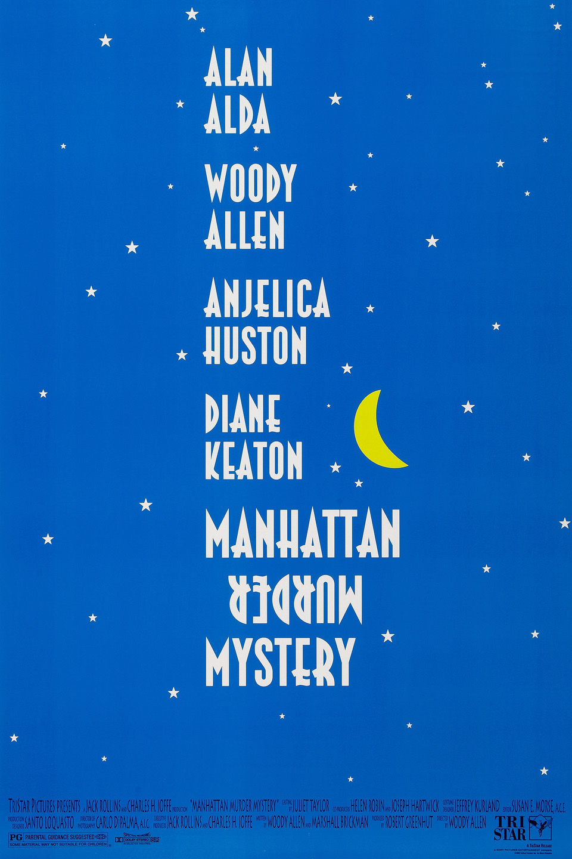 Manhattan Murder Mystery kapak