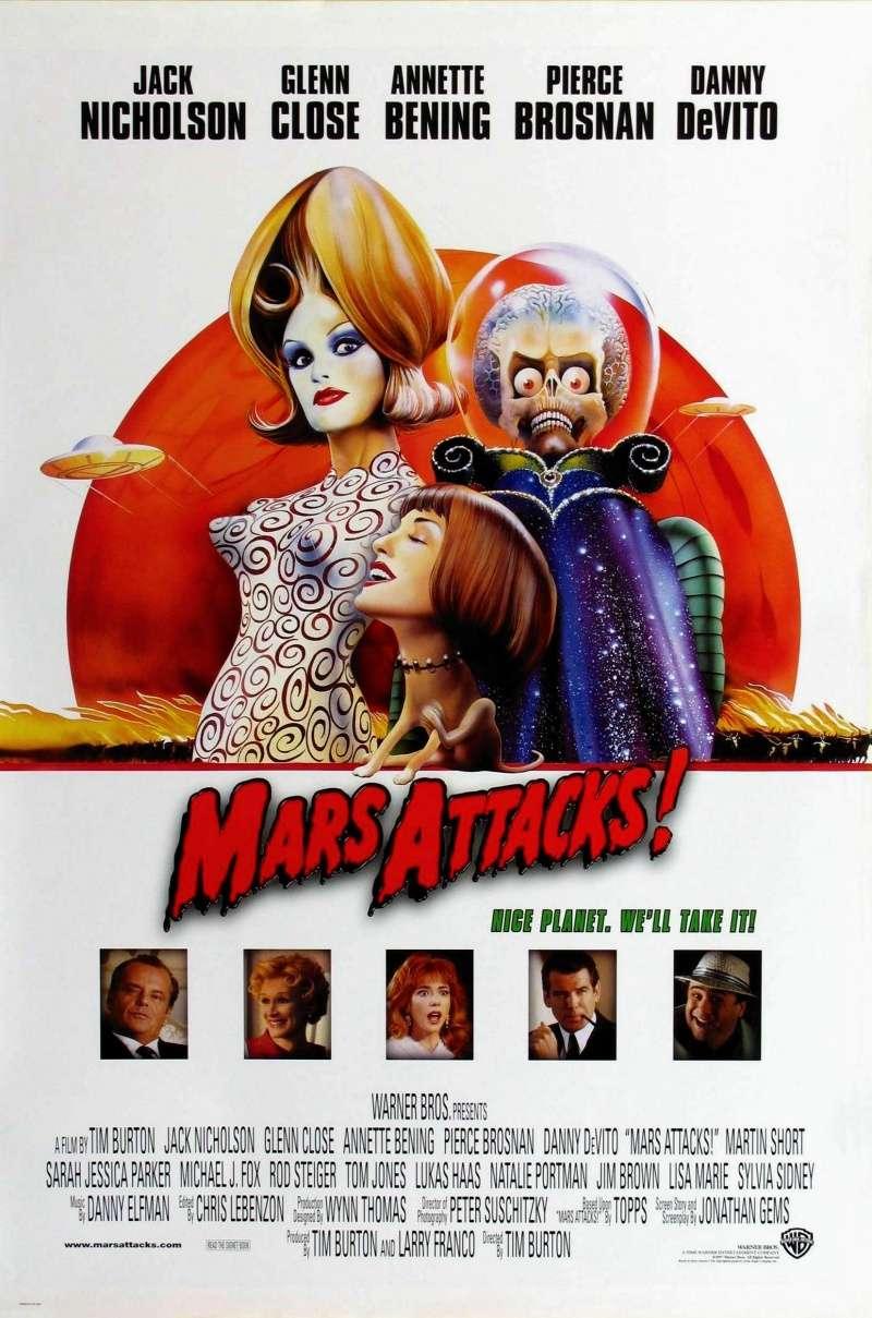 Mars Attacks! kapak