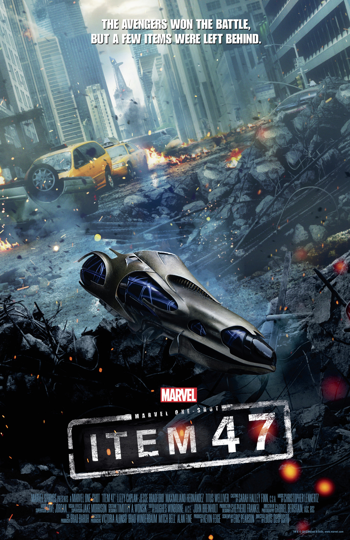 Marvel One-Shot: Item 47 kapak