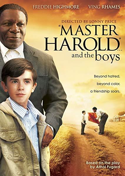 'Master Harold' ... And the Boys kapak