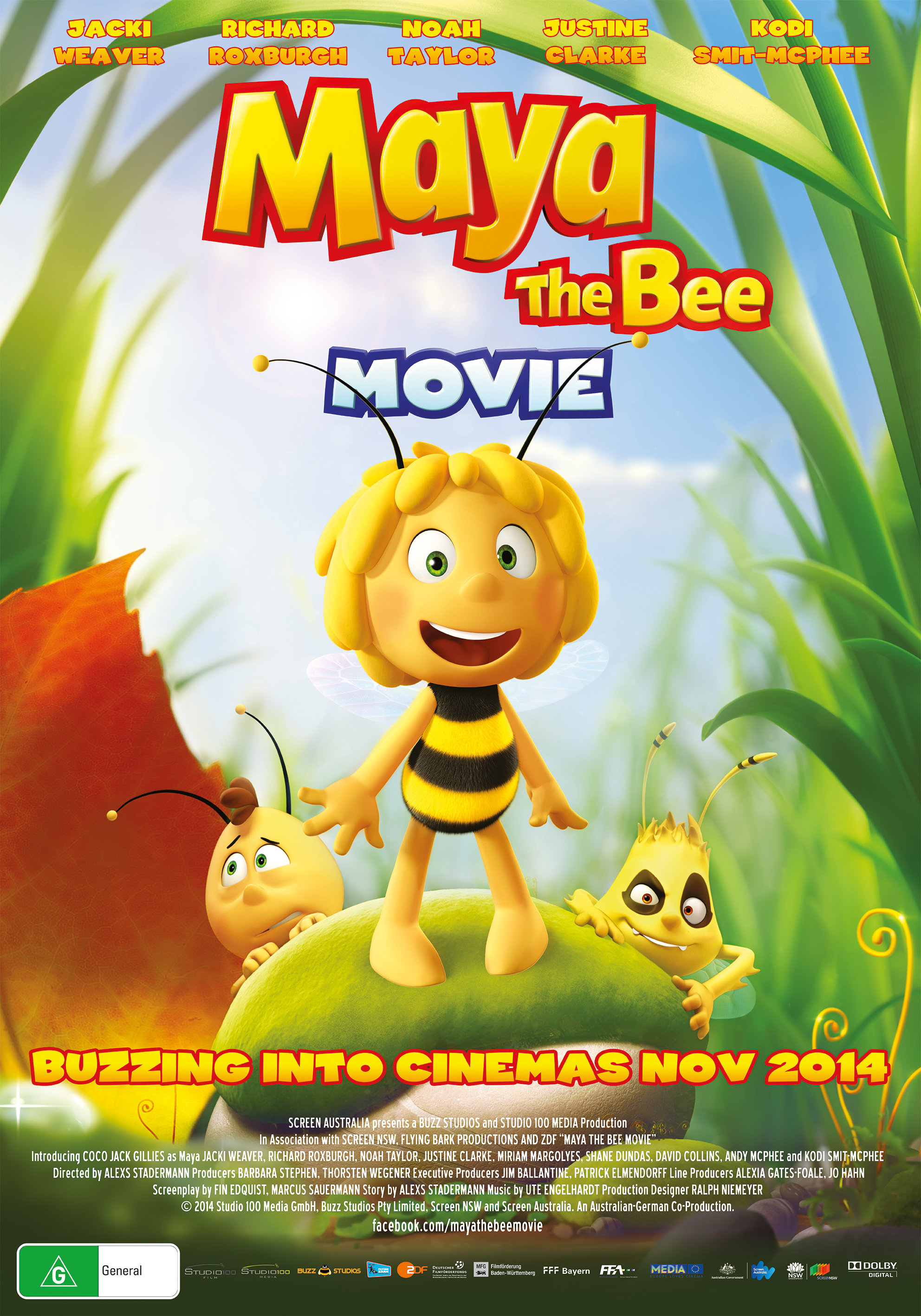 Maya the Bee Movie kapak