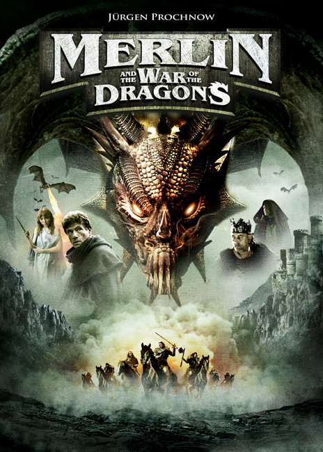 Merlin and the War of the Dragons kapak