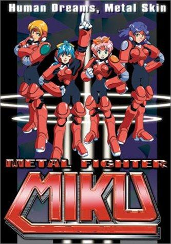 Metal Fighter Miku kapak