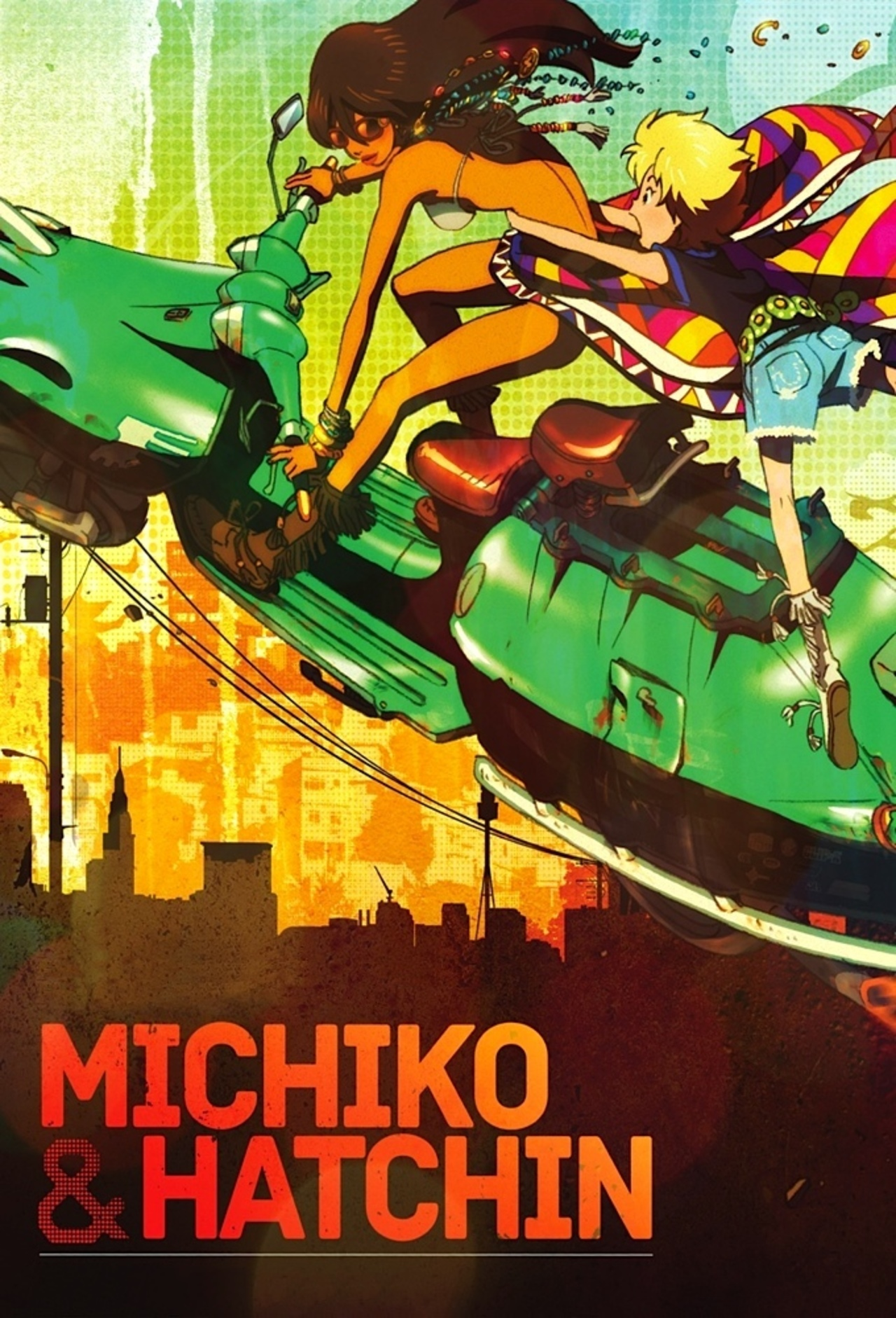 Michiko to Hatchin kapak