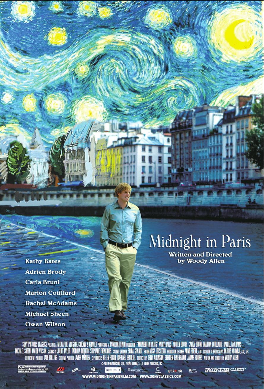 Midnight in Paris kapak